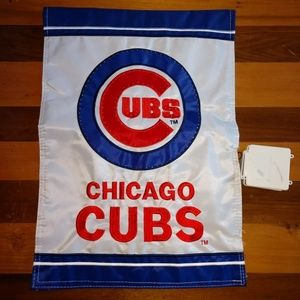 Chicago Cubs MLB LED mini Garden Flag